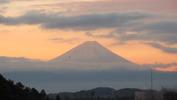 富士山(20141224)夜明け