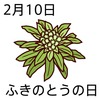 10ふきのとうの日(0210)