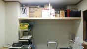 「新」工房(20140801)棚設置「荷物整理」