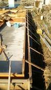 工事進捗(20140407)型枠(立ち上がり)北通り
