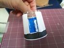 サンドブラスト素材「ジャム瓶D社」山並みセット1