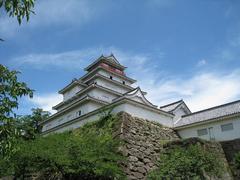 会津鶴ヶ城・天守閣-2