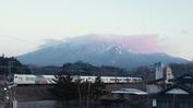 八ヶ岳(20140122)セブンイレブン裏