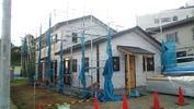 工事進捗(20140522)外壁下地全景