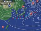 天気図(2013.2.19)