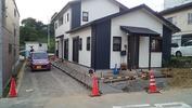 外構工事(20140918)コンクリート打設完了2