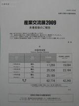 産業交流展2009(来場者数)