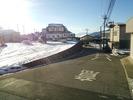 積雪(20150131)前面道路南