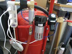 赤タンク(直圧式用:配線完了)