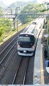 あずさ2号東京行き(20140602)長坂駅