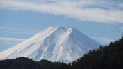 富士山(20150107)中央道藤野PA2