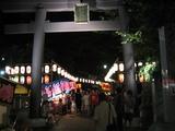 北野神社(祭2007:鳥居)