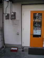 工房(入り口:ポスト撤去)