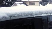 積雪状況(20131219)クルマ屋根