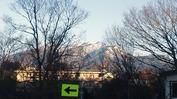 八ヶ岳(20131211)玄関先