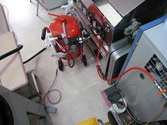 赤タンク(直圧式用:配管完了)