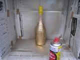 作業工程 -ボトル9(塗装2)-