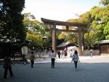明治神宮(御社殿前鳥居)2010.05.02