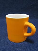 マグカップ(陶器:オレンジ)
