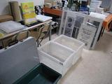 産業交流展2009(展示物箱積め前)