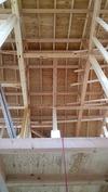 工事進捗(20140430)小屋裏(玄関吹き抜け)
