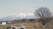 八ヶ岳(20140309)中央道韮崎IC付近