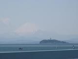 江ノ島&富士山(渚橋2009.04.02-up)