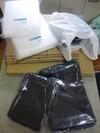 「あとりえふみ」梱包資材(手提げ袋、エアパッキン、段ボール)