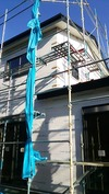 工事進捗(20140527)外壁サイディング下屋取り合い