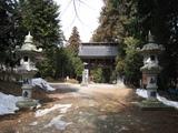 清光寺(参道門)