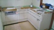 工事進捗(20140711)キッチン1