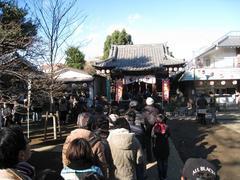 初詣(2010.01.01)北野神社境内