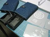 カードケース(サンプル用-デニム素材)