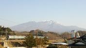 八ヶ岳(20140408)セブンイレブン裏