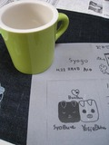 サンドブラスト体験(マグカップ[デザインmy])