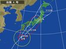 台風4号(2012.6.19)