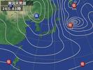 天気図(2013.2.25)