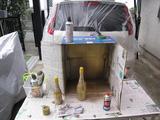 養生シート(塗装用)塗装工