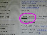 Blog容量(LD)2011.01.08