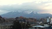 八ヶ岳(20131213)セブンイレブン裏