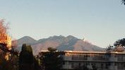 八ヶ岳(2013_11_8)初冠雪