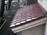 積雪?(2011.02.12)中野通り側屋根