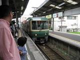 江ノ電(車両入線)