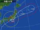台風18号(20141006)朝