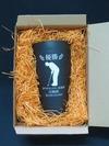 サンドブラスト作品(陶器製ビアマグ)ゴルフコンペ副賞