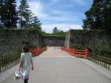 会津鶴ヶ城・入城