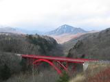 東沢橋(八ヶ岳眺望)