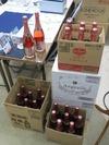 サンドブラスト素材(シャンパンボトル)50本入荷