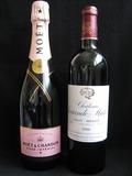 サンドブラスト作品[シャンパン&ワイン]base