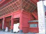 増上寺(門)
